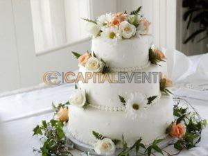 torta nuziale matrimonio Roma